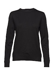 Zara O-neck - 001 BLACK
