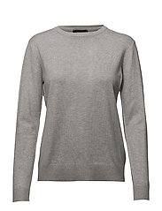 Zara O-neck - LIGHT GREY