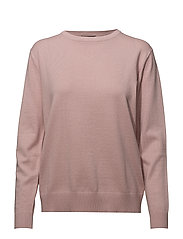 Zara O-neck - SMOKE ROSE