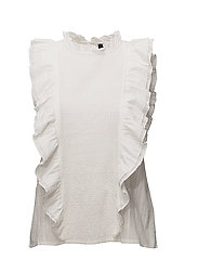Annabell Blouse - 002 OFF WHITE