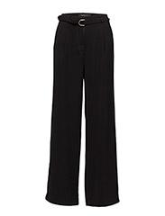 Ann Wide Pant - BLACK