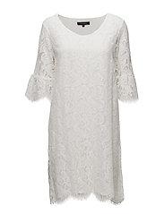 Pia Dress - 002 OFF WHITE