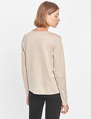 Soft Rebels - SRMarla O-Neck Roll Edge - sweaters - whitecap gray - 3