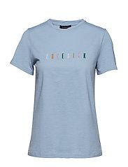 Lovesick T-shirt - BLUE FOG
