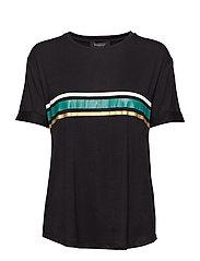 Elvaline T-shirt - BLACK