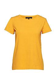 Elle T-shirt - APRICOT
