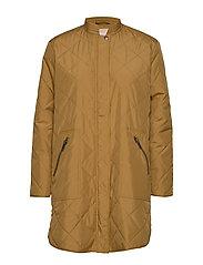 Shila Coat - CUMIN