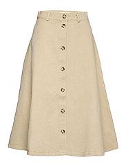 Sanbina Midi Skirt - WARM SAND