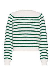 SRTammy LS O-neck Knit - LUSH MEADOW