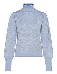 SRLisa Rollneck Knit - ZEN BLUE