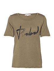 SRRebels T-shirt - COVERT GREEN