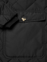 Soft Rebels - SREileen LS Quilt Coat - quilted jackets - black - 4