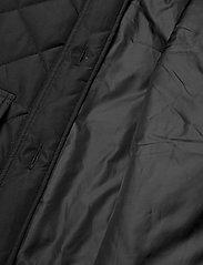 Soft Rebels - SREileen LS Quilt Coat - quilted jackets - black - 5