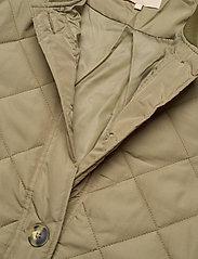 Soft Rebels - SREileen LS Quilt Coat - quilted jackets - covert green - 2