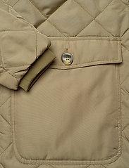 Soft Rebels - SREileen LS Quilt Coat - quilted jackets - covert green - 3