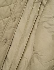 Soft Rebels - SREileen LS Quilt Coat - quilted jackets - covert green - 4