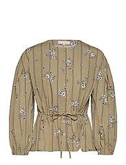 SRKimberly LS Shirt - BOUQUET PRINT