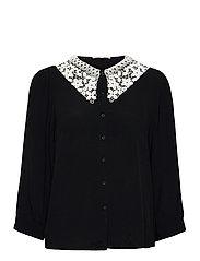 SRJudith 3/4 Shirt - BLACK