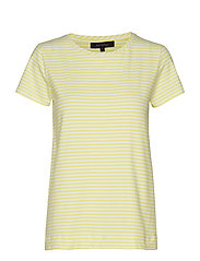 Elle T-shirt y/d stripes