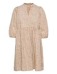 SRDana Dress Printed - TINY FLOWER PEPPER