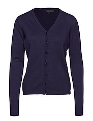 Zara Cardigan V-neck - 217 NIGHT SKY
