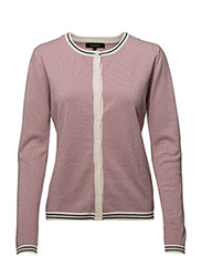 Helle Cardigan - SMOKE ROSE