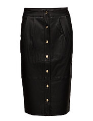 Naghi Skirt w/ Stretch - BLACK