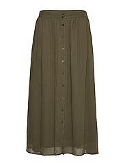Koon Maxi Skirt - GRAPE LEAF