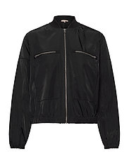Evalia Bomber Jacket - BLACK