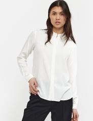 Soft Rebels - SRFreedom LS Shirt - denimskjorter - snow white / off white - 0