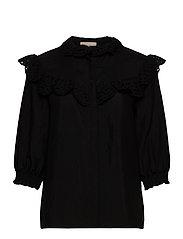 Nelly 3/4 shirt - BLACK