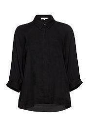 Rosanna 3/4 Shirt - BLACK