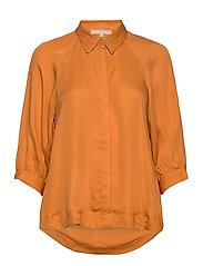 Rosanna 3/4 Shirt - TOMATO CREAM