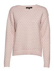 Dot Blouse - 337 SMOKE ROSE