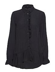 Ribin Shirt - 001 BLACK