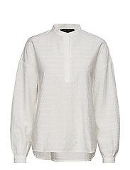 Waja Shirt - 002 SNOW WHITE / OFF WHITE