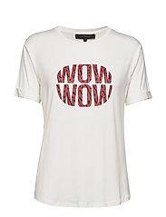 Wow T-shirt - SNOW WHITE / OFF WHITE