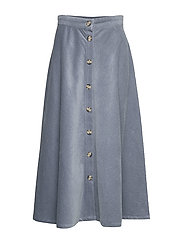 Cordy Skirt - BLUE MIRAGE