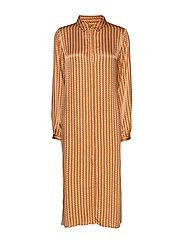 Sikka Long Shirt - TILE PRINT