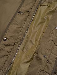 Soft Rebels - Layla Puffer Jacket - down- & padded jackets - dark olive - 6
