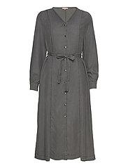 Aura Midi Dress - ASPHALT