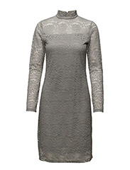 Sisse Dress - 004 ANTRAZIT MELANGE