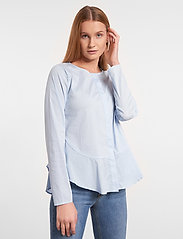 Soft Rebels - Aimee Shirt - long sleeved blouses - cashmere blue - 0
