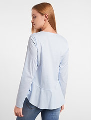Soft Rebels - Aimee Shirt - long sleeved blouses - cashmere blue - 3