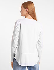 Soft Rebels - Aimee Shirt - long sleeved blouses - snow white / off white - 3