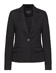 Freya Plain Blazer - 001 BLACK