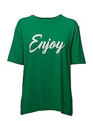 Enjoy T-shirt - JOLLY GREEN