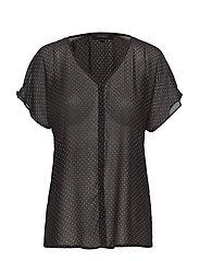 Diana SS Shirt - BLACK