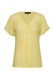 Diana SS Shirt - ELFIN YELLOW