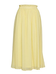 Diana Ankle Skirt - ELFIN YELLOW